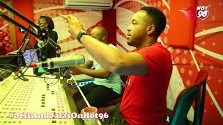 Fun times in studio with top Nollywood stars
