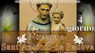 Novena a Sant Antonio da Padova - 4 giorno