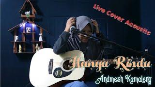 Hanya rindu - Andmesh Kamaleng ( Live Acoustic Cover by Novita Risky )