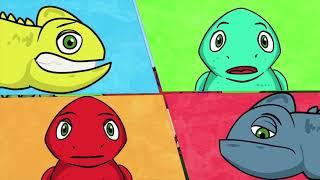 Профессор Почемушкин - Развивающий мультфильм для детей –Какого цвета хамелеон?