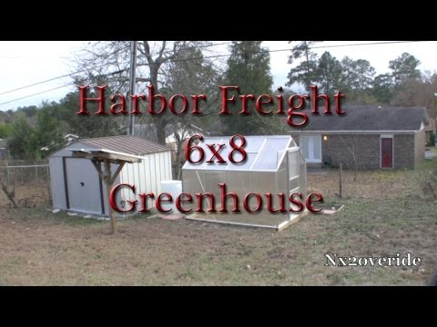 Harbor Freight 6x8 Greenhouse