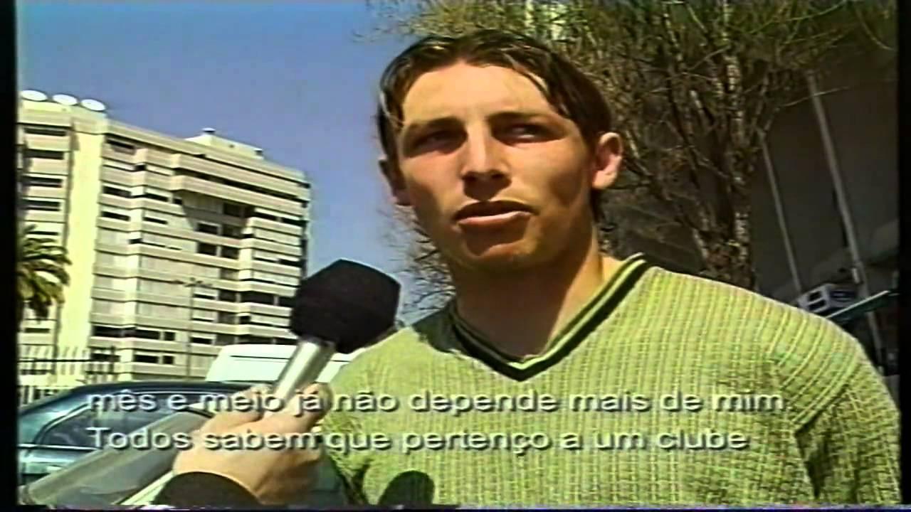 Entrevista a Gabriel Heinze (Sporting) a 25/03/1999