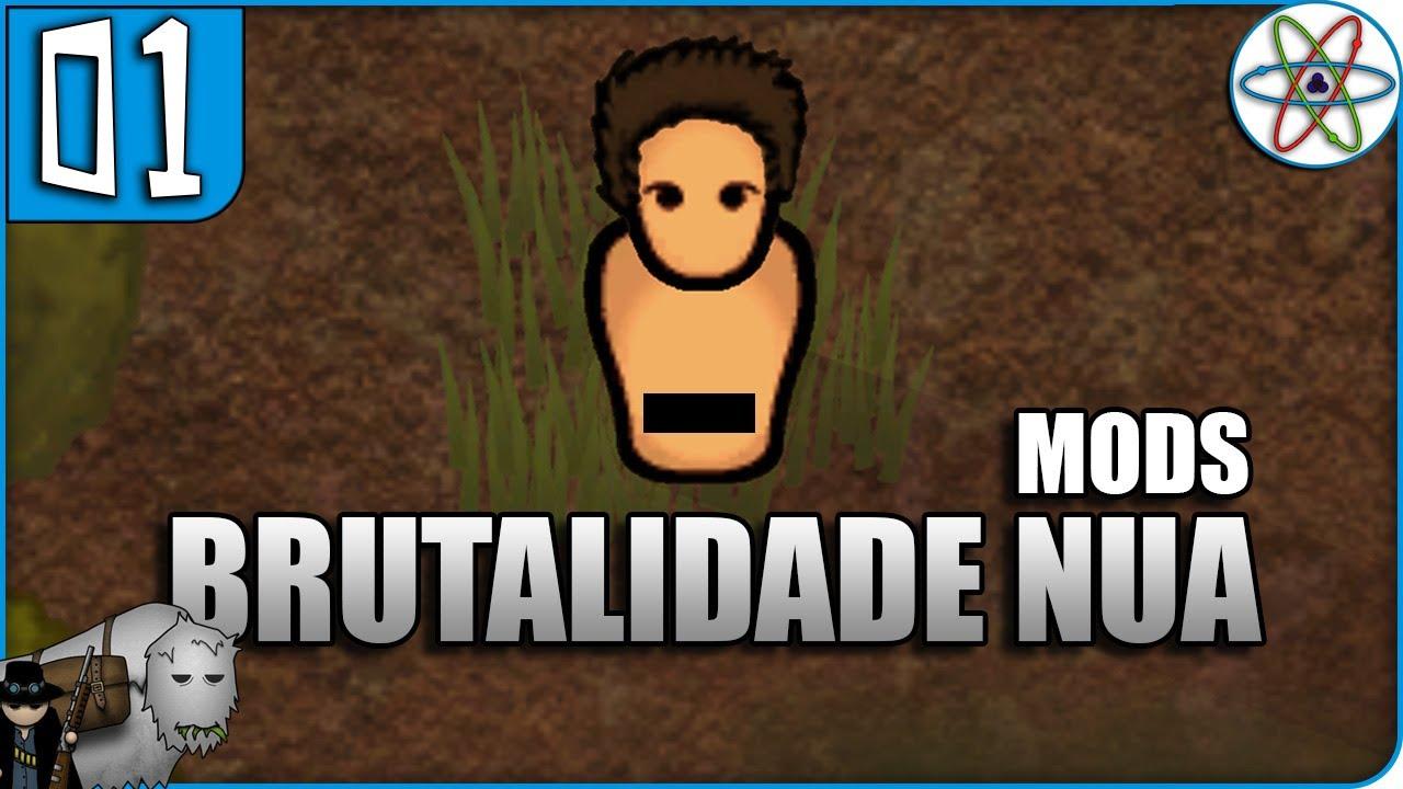 Sobrevivência sem NADA! Mods! | RimWorld V1 0 Ep 01 - Gameplay Português PT  BR