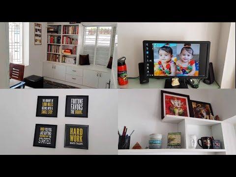 fc2fb428f2 My Home Office Tour - YUMMY TUMMY TAMIL VLOG - YouTube