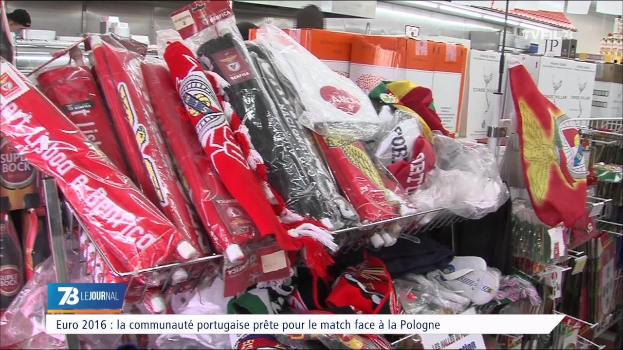 Euro 2016 : la communauté portugaise prête pour le match face à la Pologne