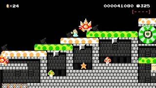 Peach's Posse Storms the Dungeon by Yohei - SUPER MARIO MAKER - NO COMMENTARY