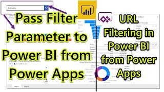 Filter Power BI Report Based on the Selected Value from Power Apps | Power BI and Power Apps