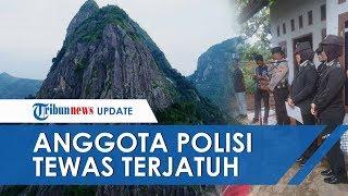 Seorang Anggota Kepolisian Tewas Jatuh dari Tebing Gunung Parang