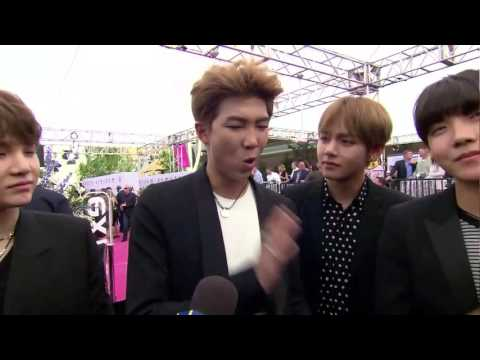 BTS (방탄소년단) Good Morning America Full Interview @ Billboard Music Awards Magenta Carpet LIVE 2017