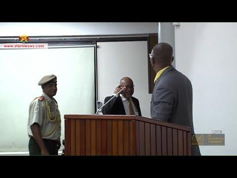 Belfort gaat confrontatie aan met president Bouterse