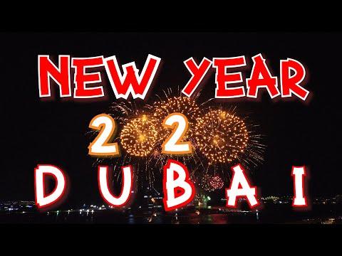 Dubai New Year's Eve 2020 Fireworks Display (4K) | The PALM Jumeirah Island