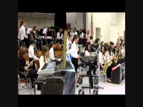 Jazz band Fall Concert Oak Lawn Hometown Middle School.wmv