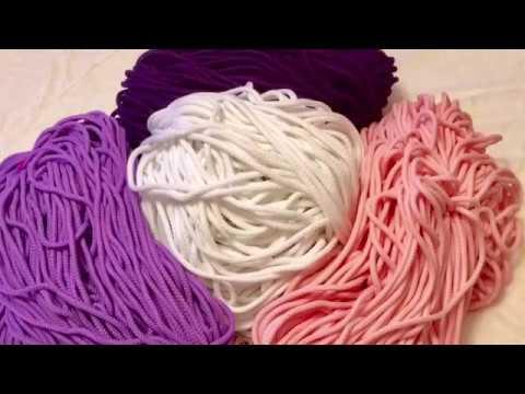 Где купить полиэфирный шнур для вязания ковров крючком купить