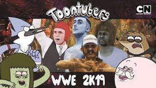 ¡CADA UNO POR SU CUENTA EN LUCHA LIBRE! | Toontubers | Cartoon Network