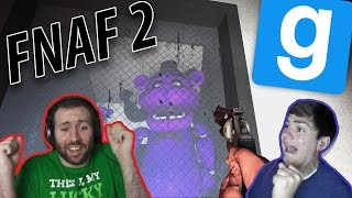 THE HORROR OF FREDDY GMod Horror Maps Five Nights At Freddy s 2 Part 2