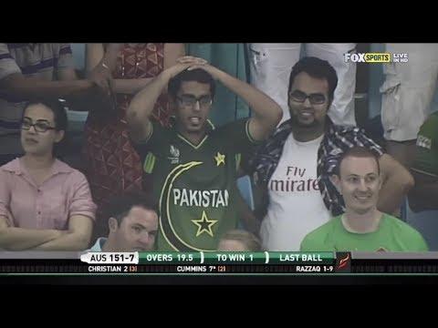 Pakistan vs Australia 2nd T20 2012 Thrilling Finish