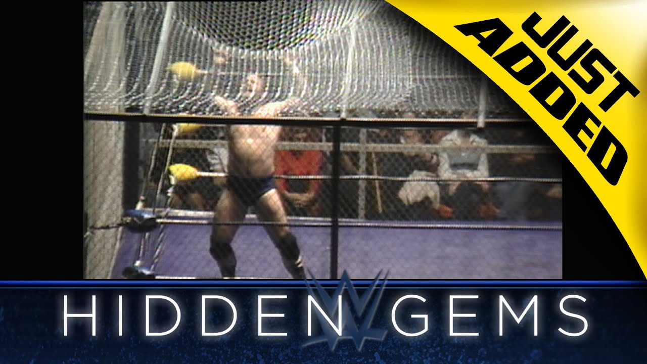 Relive the match that inspired WWE Hell in a Cell in rare WWE Hidden Gem (WWE Network Exclusive)