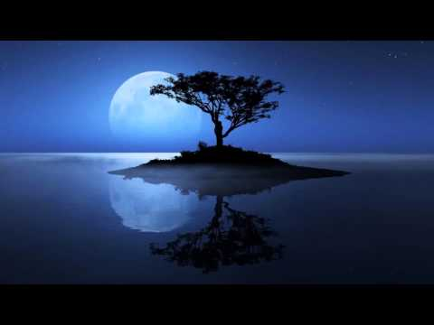 Deep Calming Music Under Full Moon Peaceful Night - Relaxing Song Playlist With Beautiful Wallpaper