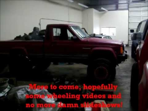 Lifted Jeep Comanche 8 1 2 Lift 4wd Swap Youtube