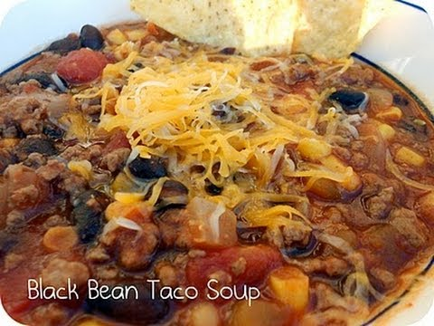 How to Make Black Bean Taco Soup | Dinner | Six Sisters Stuff