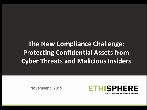 The New Compliance Challenge: Protecting Confidential Assets from Cyber Threats