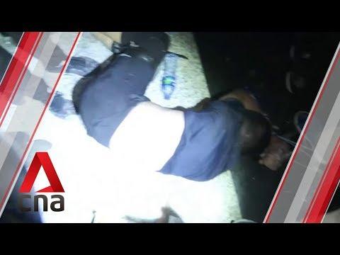 HK airport protesters beat up man suspected of having pro-Beijing links