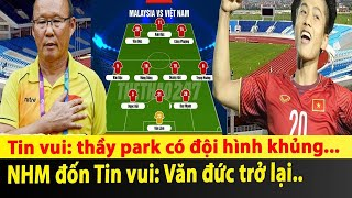 Chấn động Đội hình mạnh nhất của Việt Nam đấu Malaysia,  Siêu sao ....xuất hiện