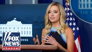 Kayleigh McEnany holds White House press briefing