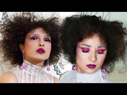 I tried to recreate Priyanka Chopra's Met Gala Look 2019 | Hair, Makeup & DIY Accessories Tutorial