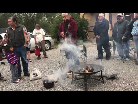 Native American Smudging Ritual For Lemhi Trail Of Tears