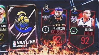 3 MILLION COIN TRADE DEADLINE PACK OPENING! NEW CARDS!- NBA Live Mobile 16