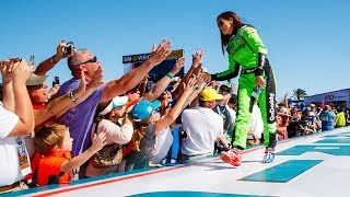 Danica Patrick Finishes Nascar Career At Daytona 500 | Espn
