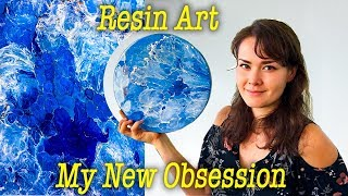 New Obsession  Resin Art - Show and tell how - Basic tools required - My first attempts
