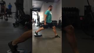 Rear Foot Elevated Split Lunge - OPEX Regina