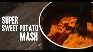 """""""super"""" Sweet Potato Mash"""
