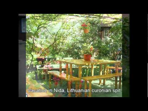 Vacation in Nida, Lithuanian curonian spit
