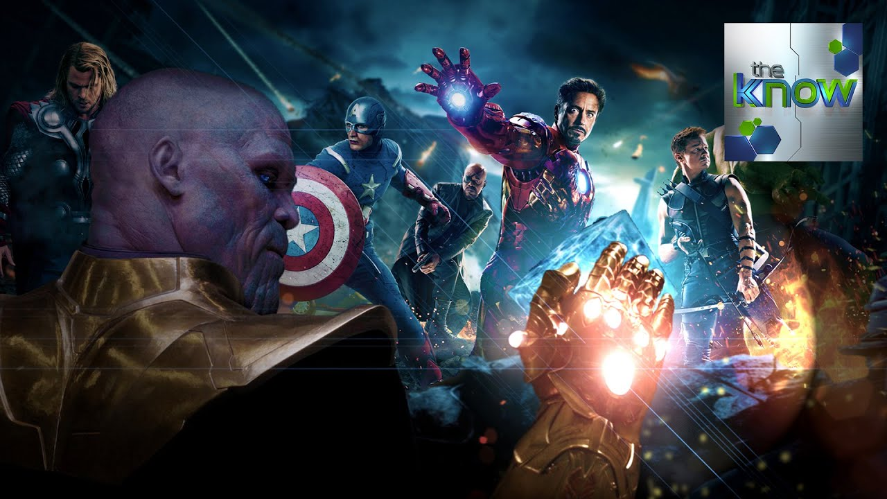 ... Talks About Thanos + Avengers 3 Release Date - The Know - YouTube