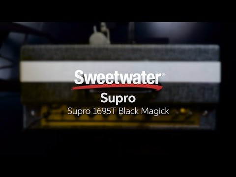 Supro Black Magic Guitar Amplifier Review