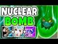 NUCLEAR BOMB ZAC MID! 100% ONE-SHOT ENTIRE ENEMY TEAM (INSANE 5K TRUE DMG BOMB) - League of Legends
