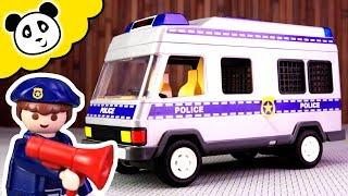 Playmobil Polizei - Der neue Polizei Transporter!  - Spielzeug auspacken & spielen - Pandido TV