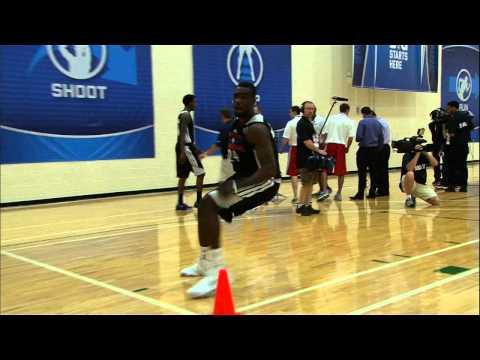 Tim Hardaway Jr. at the NBA Draft Combine 2013