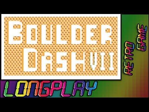 Boulderdash VII (C64 Longplay 60fps) All Caves