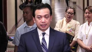 Paolo Duterte's libel case is just harassment – Trillanes