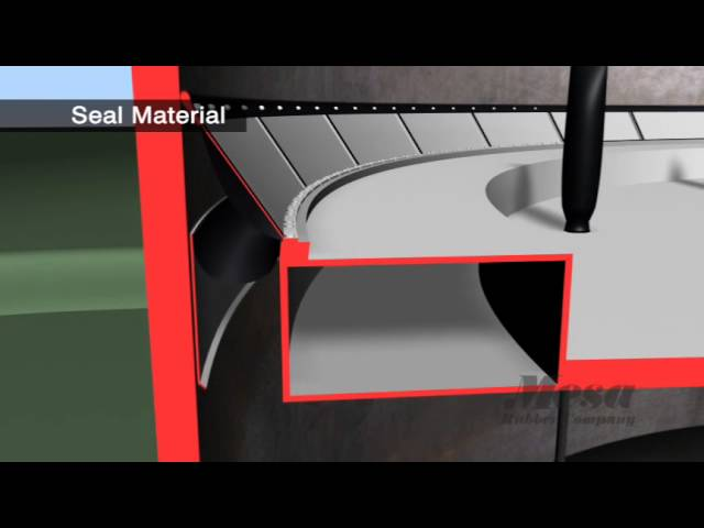 Seal Material Primary Secondary Ast Seals For Floating Roof Tanks Youtube