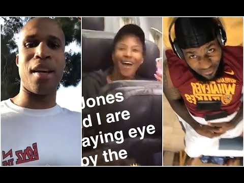 Richard Jefferson sees LeBron's wife on a plane, plans to hit on her 😂