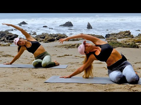 30 Minute Easy Yoga Stretching for Muscle Soreness
