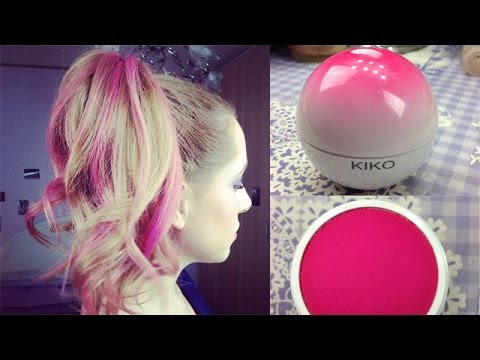 Come Fare I Capelli Rosa How To Get Pink Hair Erikioba Youtube