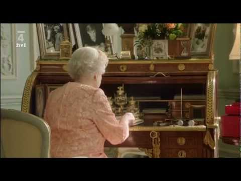 LOH 2012 Londýn - Zahajovací ceremoniál olympijských her - Královna Alžběta a James Bond
