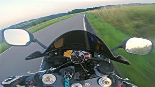 Moron On Yamaha R6 || Onboard Sound