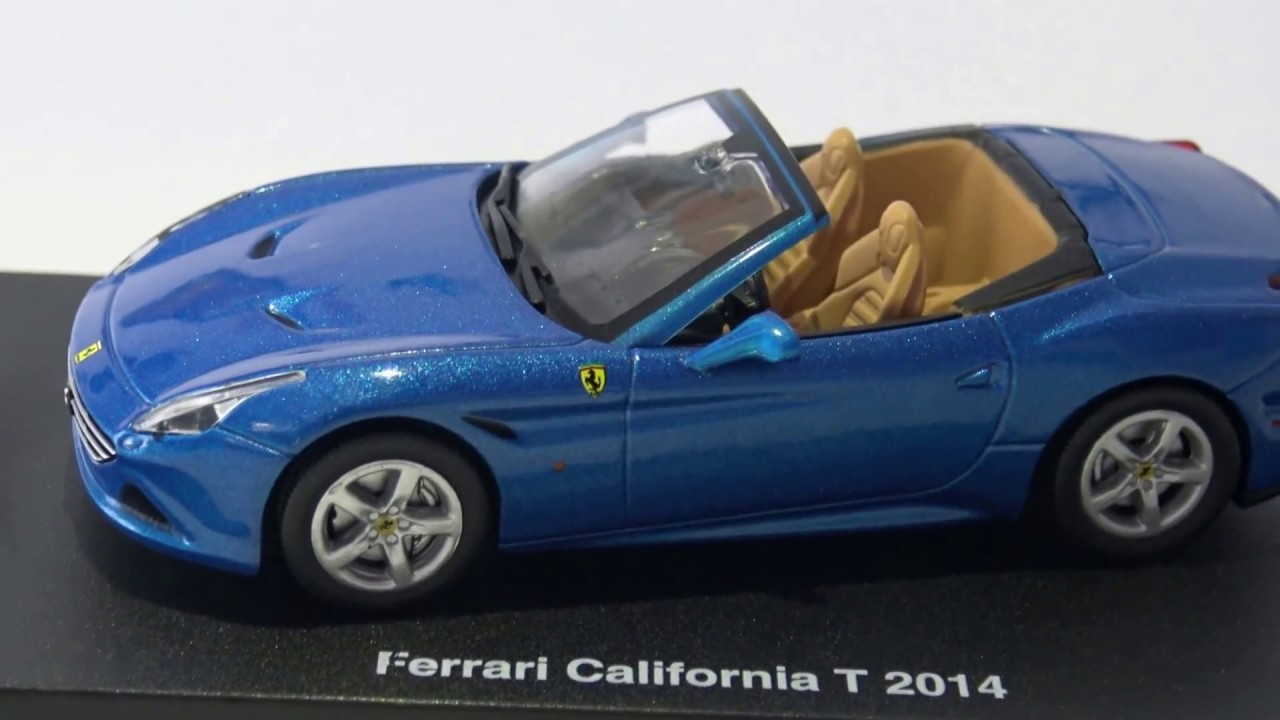 Ferrari GT Collection California T Centauria 1:43 - YouTube